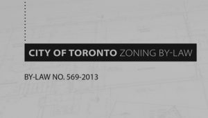 CITY OF TORONTO DRAFT CITY-WIDE ZONING BY-LAW